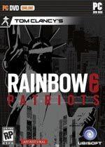 Tom Clancy's Rainbow 6 Patriots Box Art