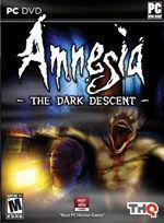Amnesia: The Dark Descent Box Art
