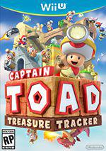 Captain Toad Treasure Tracker Box Art
