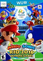 Mario & Sonic at the Rio 2016 Olympic Games Box Art