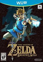 The Legend of Zelda: Breath of the Wild Box Art