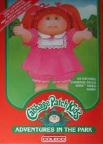 Cabbage Patch Kids Adventures in the Park Box Art