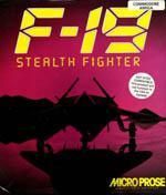 F-19 Stealth Fighter Box Art