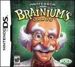 Professor Brainium's Games Box Art