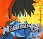 Mega Man 64 Box Art