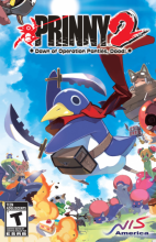 Prinny 2: Dawn of Operation Panties, Dood! Box Art