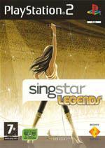 Singstar Legends Box Art