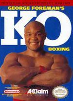 George Foreman's KO Boxing Box Art