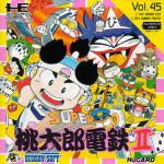 Super Momotarou Dentetsu II Box Art