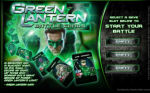 Green Lantern Battle Cards Box Art
