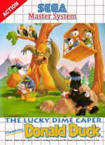 The Lucky Dime Caper starring Donald Duck Box Art