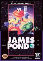 James Pond 3: Operation Starfish Box Art