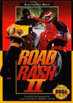 Road Rash II Box Art