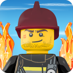 LEGO City Fire Hose Frenzy Box Art