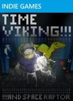 Time Viking!!!! and Space Raptor Box Art