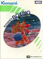 Konami's Boxing Box Art