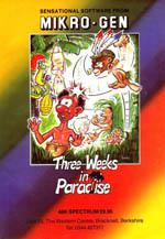 Three Weeks in Paradise Box Art
