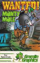 Wanted: Monty Mole Box Art