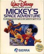 Mickey's Space Adventure Box Art