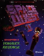 Space Quest II: Chapter II – Vohaul's Revenge Box Art