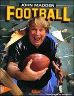John Madden Football Box Art