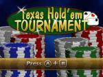 Texas Hold'em Tournament Box Art