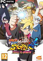 Naruto Shippuden: Ultimate Ninja Storm 4 – Road to Boruto Box Art