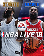 NBA Live 18 Box Art