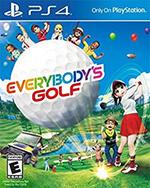 Everybody's Golf Box Art
