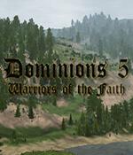 Dominions 5: Warriors of the Faith Box Art