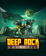 Deep Rock Galactic Box Art