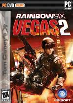 Tom Clancy's Rainbow Six Vegas 2 Box Art