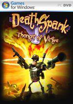 DeathSpank: Thongs of Virtue Box Art