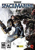 Warhammer 40,000: Space Marine Box Art