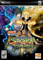 Naruto Shippuden: Ultimate Ninja Storm Revolution Box Art
