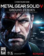 Metal Gear Solid 5: Ground Zeroes Box Art