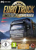 Euro Truck Simulator 2: Scandinavia Box Art