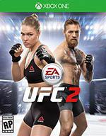 EA Sports UFC 2 Box Art