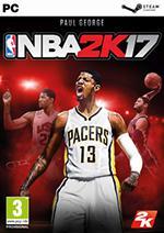 NBA 2K17 Box Art