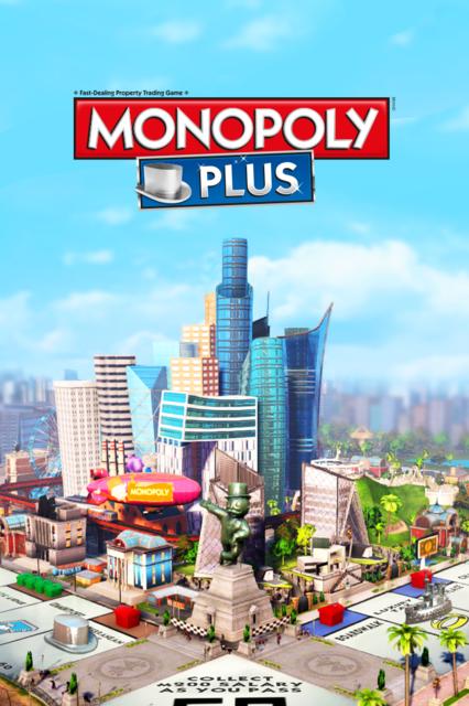 Monopoly Plus Box Art