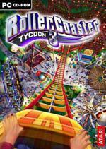 RollerCoaster Tycoon 3 Box Art
