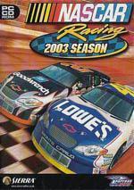NASCAR Racing 2003 Season Box Art
