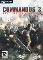 Commandos 3: Destination Berlin Box Art