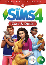 The Sims 4: Cats & Dogs Box Art