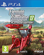 Farming Simulator 17: Platinum Edition Box Art