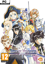 Tales of Vesperia: Definitive Edition Box Art