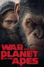 War for the Planet of the Apes Box Art