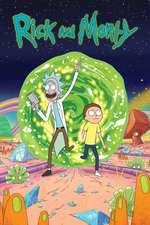 Rick and Morty Box Art